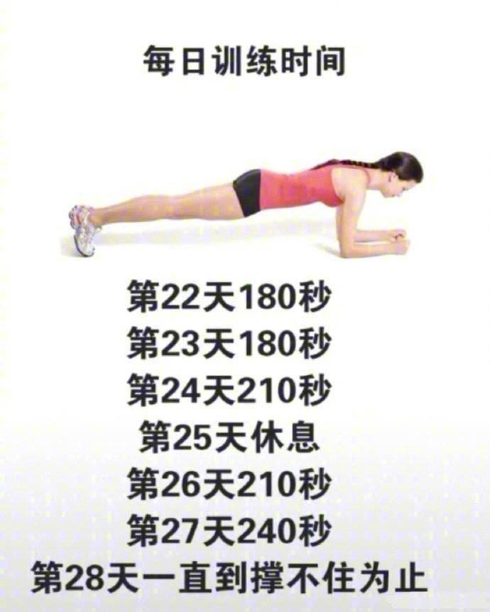 平板支撑28天训练法-8