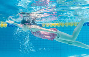 游泳要注意对眼睛和耳朵的保护