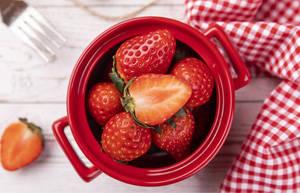 草莓的高营养价值