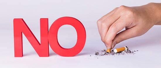 戒烟有利健康