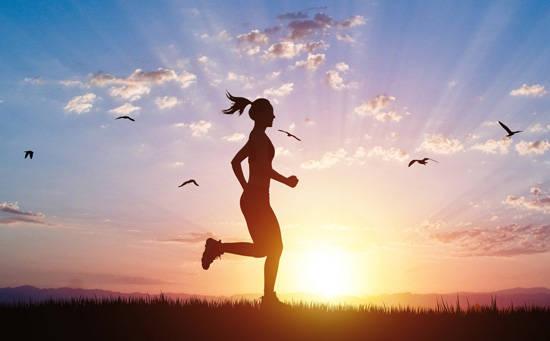 跑步除瘀堵身体好