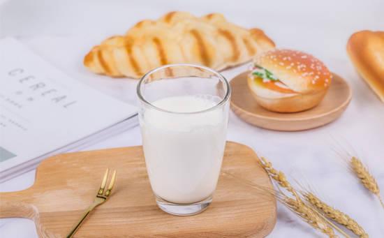 牛奶面包营养早餐