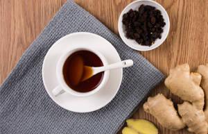姜枣茶,排湿补气