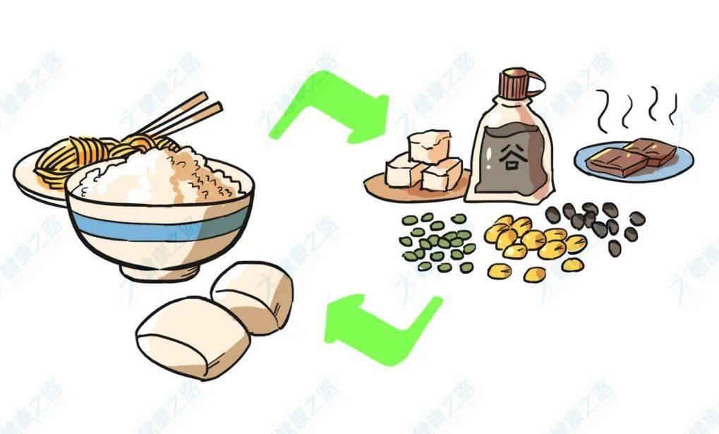 米饭配杂豆营养高