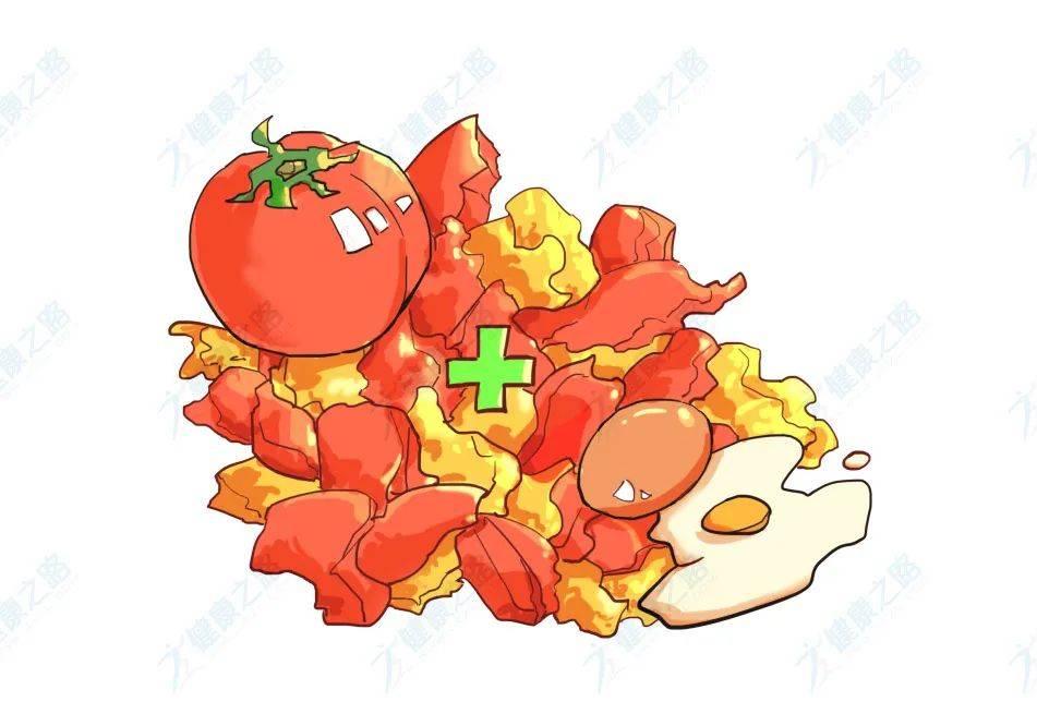 西红柿鸡蛋搭配营养高