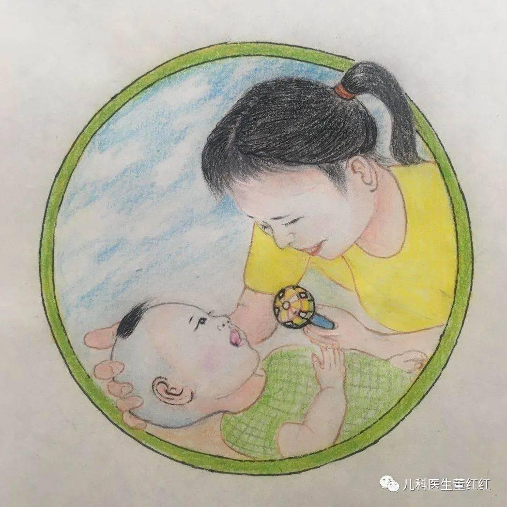观察1个月宝宝的视力发育