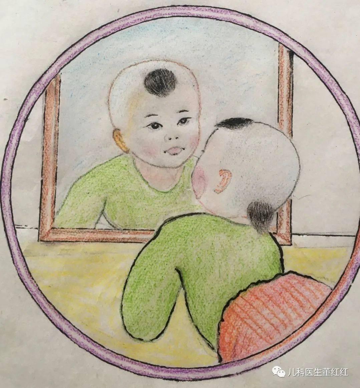 宝宝照镜子对视力发育有好处