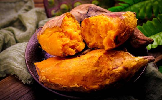 红薯:消积通便,即减肥又顶饱