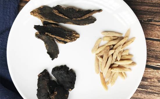 增液汤原料:玄参、生地黄、麦冬