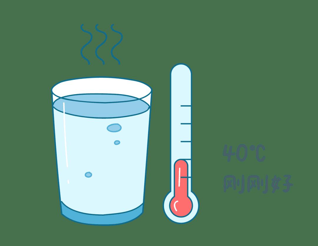 早上起床喝40度温水