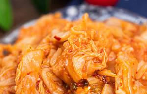 辣白菜缓解冬天降温肠胃不消化