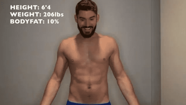 锻炼30天身体数据