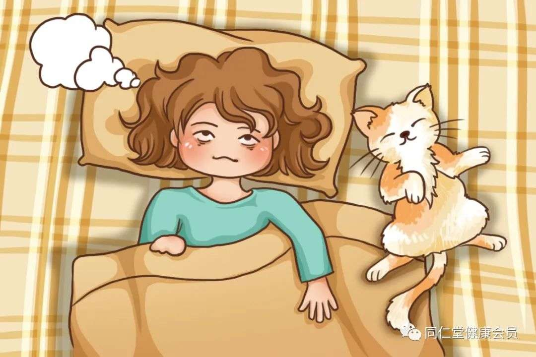 睡前不要想心事