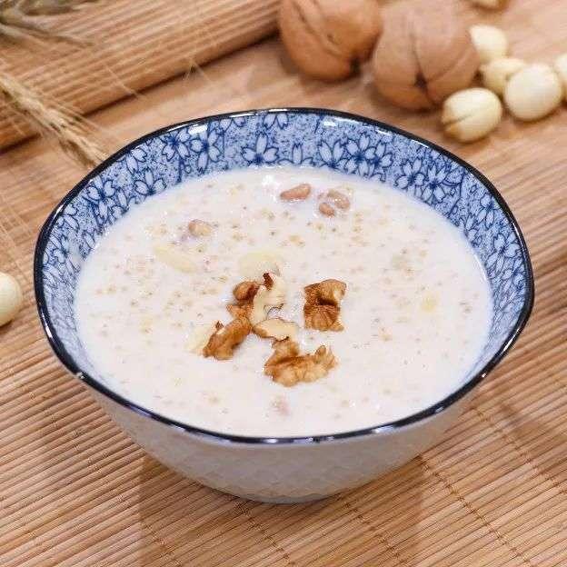 补钙养胃小米粥