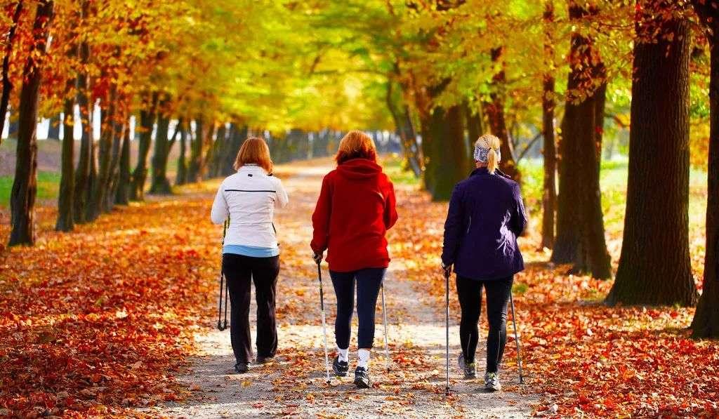 散步要选对地点