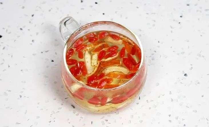 陈皮枸杞茶