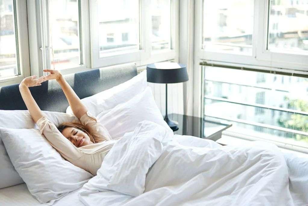 早上起床慢一点