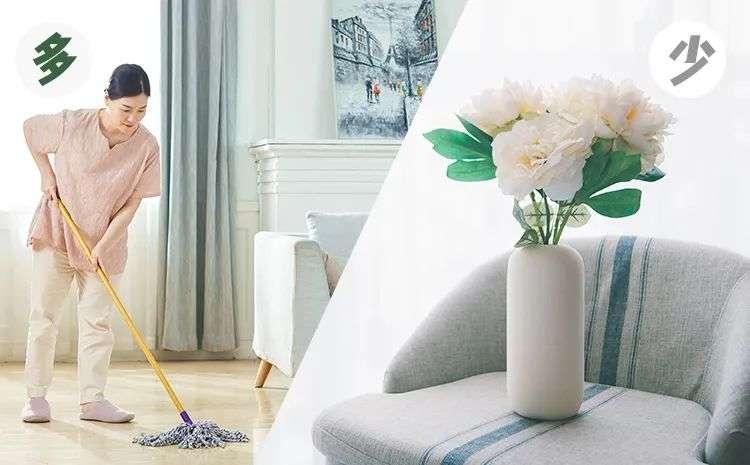多打扫,少粉尘