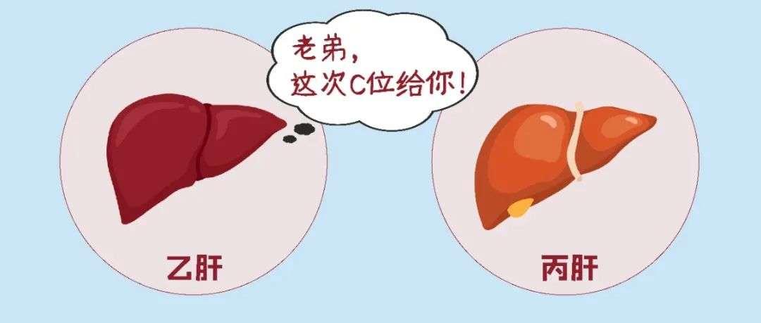 乙肝和丙肝