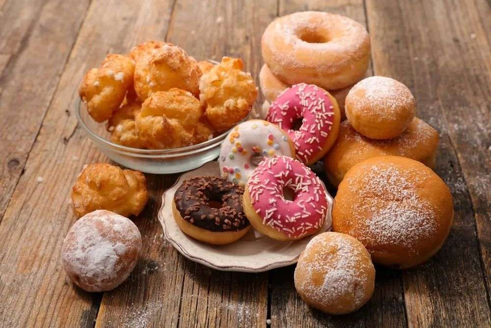 高糖、高脂肪食物