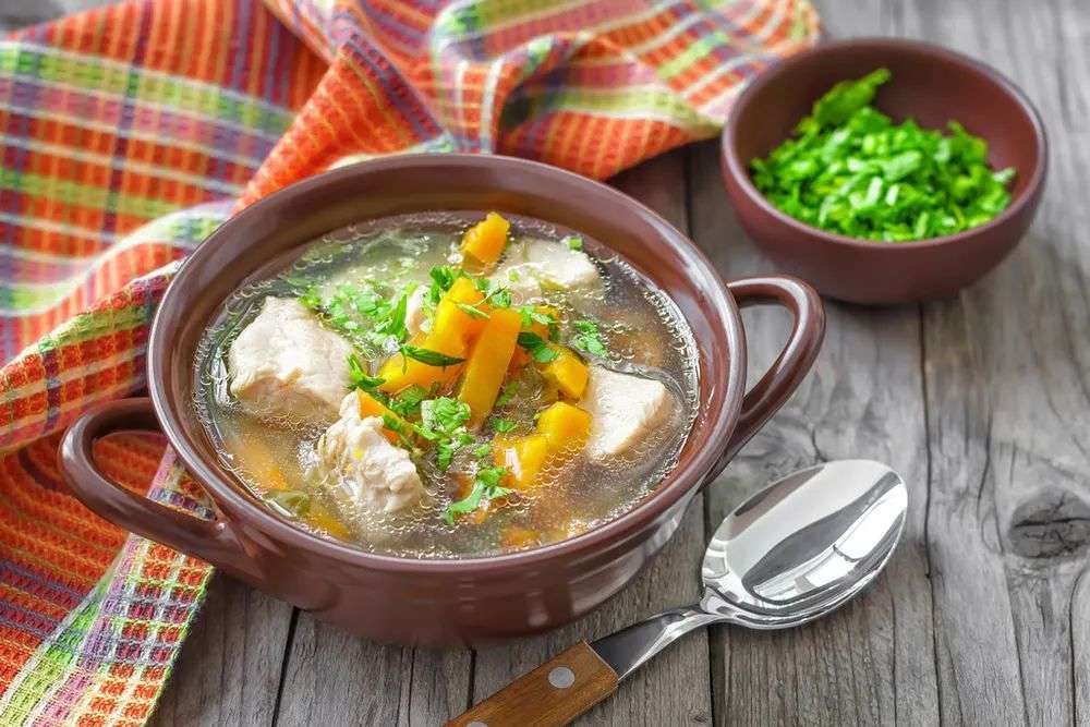 和中化湿瘦肉汤