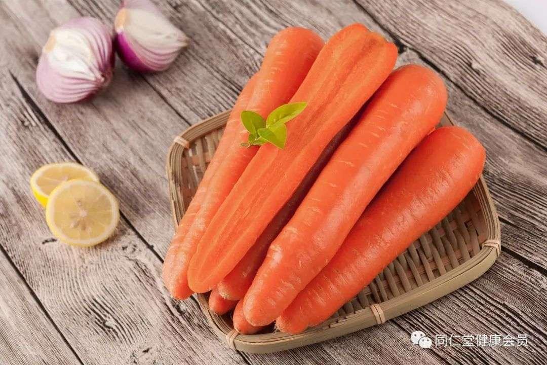 胡萝卜具有补血功效