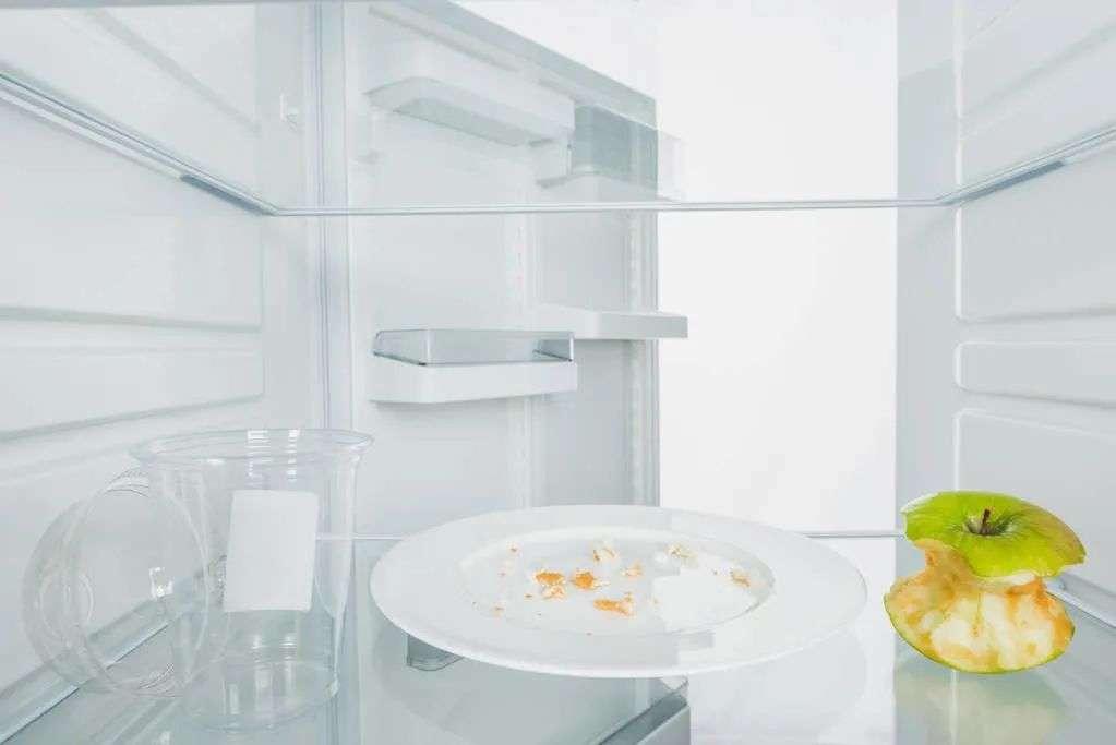 冰箱里的隔夜食物